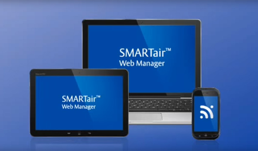 Web Manager de SMARTair™